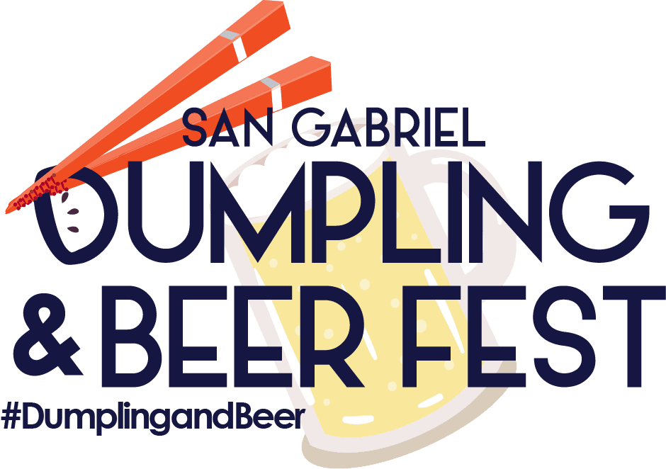 dumpling and beer logo