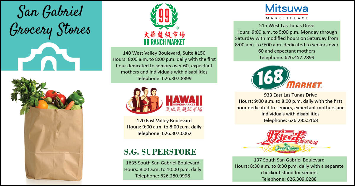 sg grocery stores