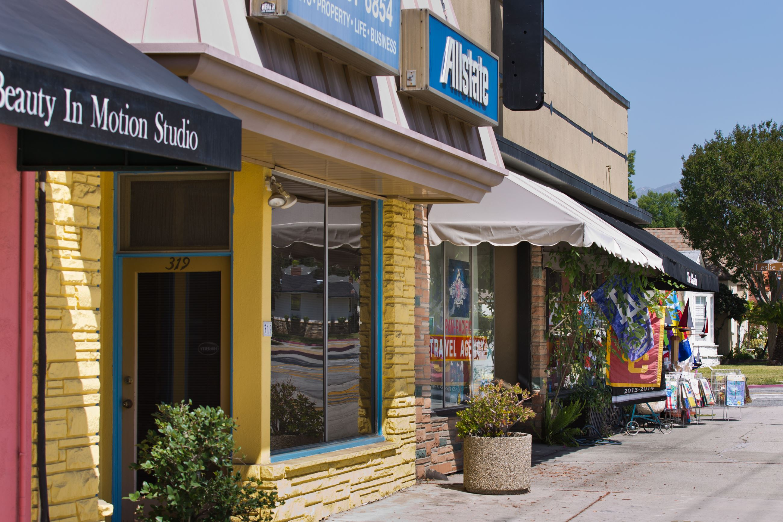 San Marino Street Businesses